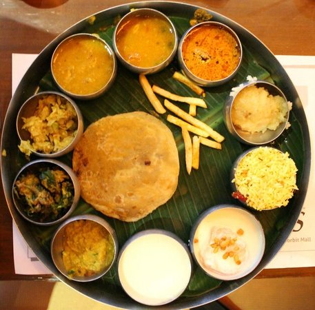 Chutneys south indian thali picture of chutneys - Chutneys indian cuisine ...