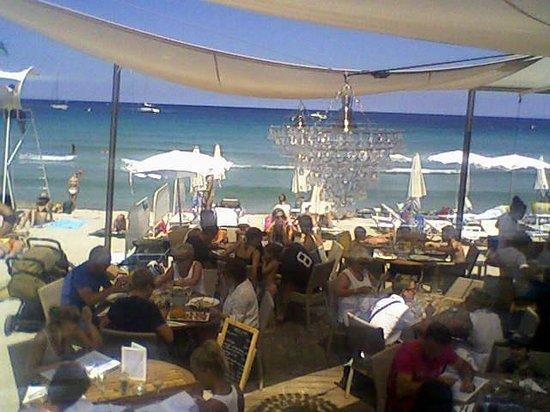 Restaurant le Marinella: Terrasse basse