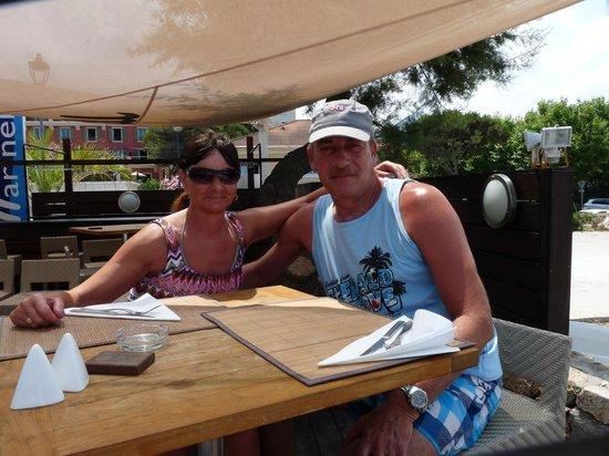 Restaurant le Marinella: Terrasse haute