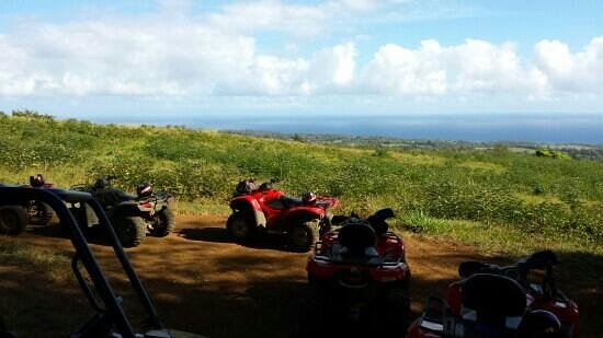 ATV Outfitters Hawaii: Great views
