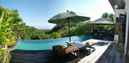 The Damai: Swimming pool view