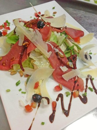 La Taverne Romaine: Salade bresaola