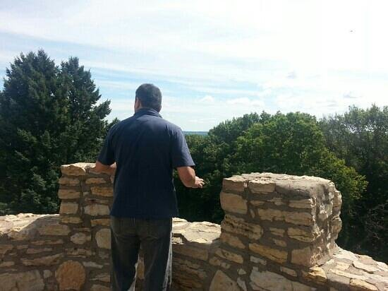 Eagle Point Park: top of lookout tower