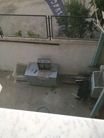 Seray Hotel: view from my balcony
