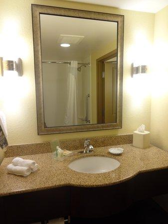 Holiday Inn Titusville Kennedy Space Center : La salle de bains