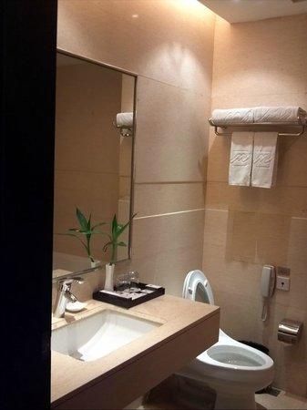 Grand Park Jiayou Hotel : 洗面所