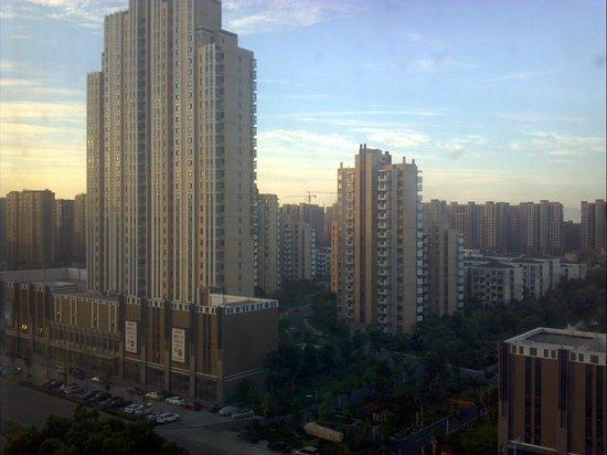 Shaoxing Yiquan Hotel : 窓からの眺め
