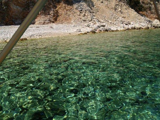 Kefalonia Bay Palace: Yellow Boat Trip - Stunning Clear Sea