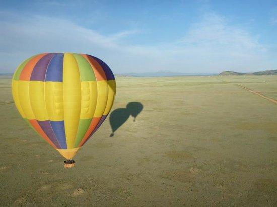 The Westin Riverfront Mountain Villas: Ballooning