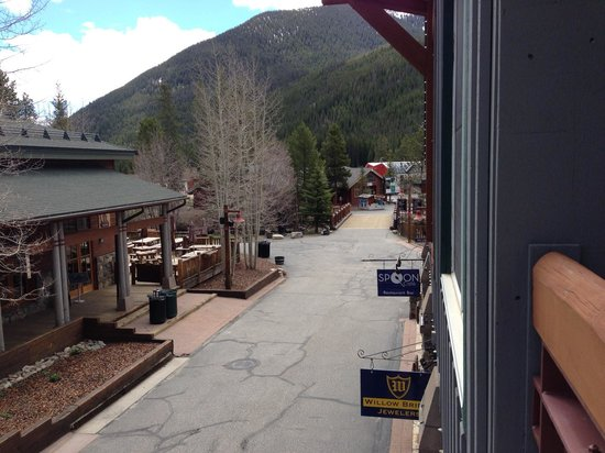 River Run Village: You can see the Gondola from the deck