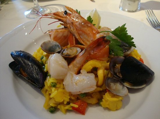 Hotel Masatsch : Paella!!!!