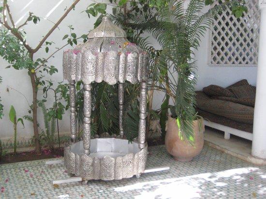 Riad Ifoulki: Innenhof