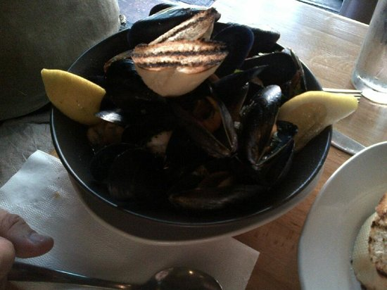 Escape Fish Bar: mussels
