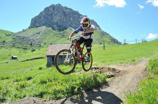 Albergo Villa Adria: sentieri Downhill di Canazei