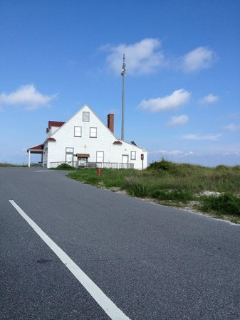 Fort Pickens Campground: Campground Registration building
