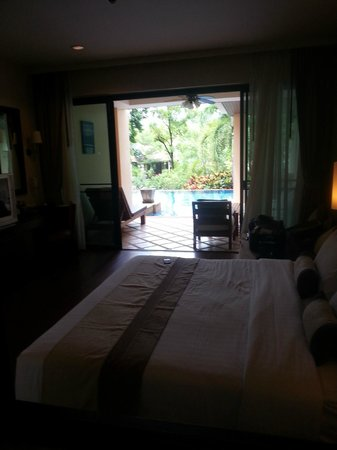 Crown Lanta Resort & Spa : chambre