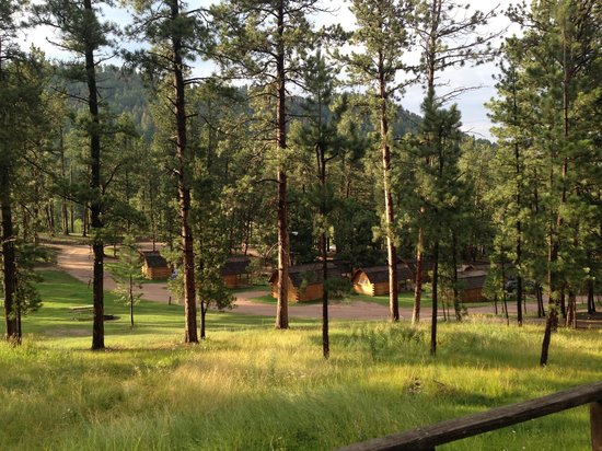 Lodge at Palmer Gulch: View from cabin 19