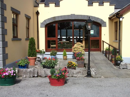 Templecarrig House: Guest house entrance