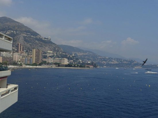 L'Argentin Monte Carlo: View from l'Argentin Bar and Lounge