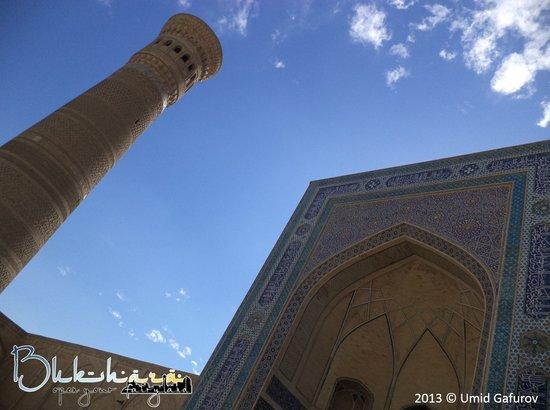 Great Minaret of the Kalon: Great View of the Minaret Kalan at daytime!