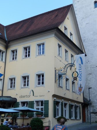 Hotel Obertor: Hotel and tower