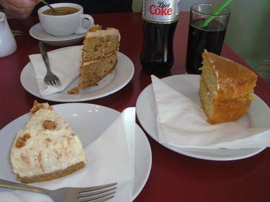 Coffee Bothy: Post walk cake - yummy!