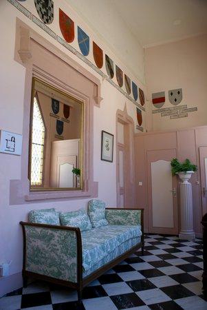 Chateau de Bellecroix : Un corridor