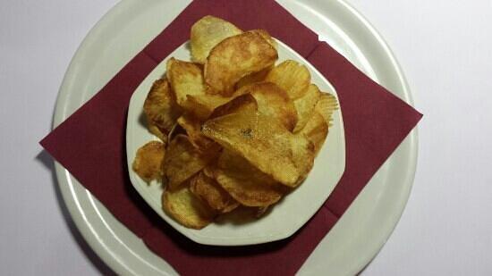 La Casetta Steak House : le chips la casetta