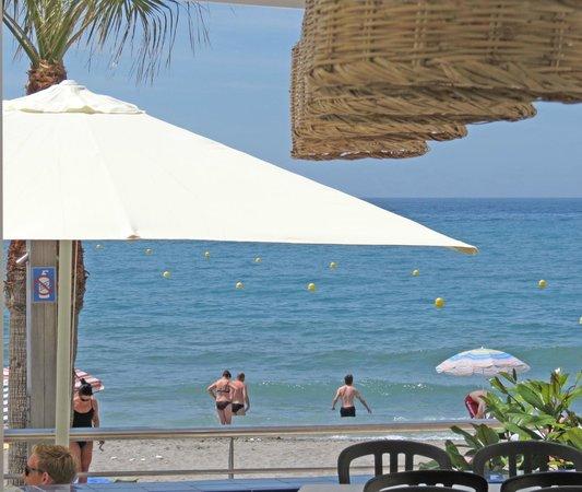 Restaurante Playa Torrecilla: view of sea