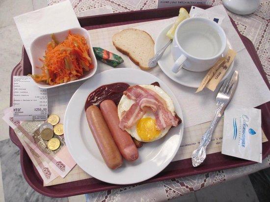 GUM Department Store: Мой очередной завтрак (breakfast) :-)