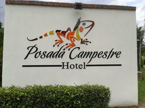 Hotel Posada Campestre San Gil: logo entrada