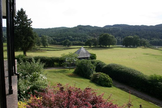 Ees Wyke Country House: Esthwaite valley from the veranda