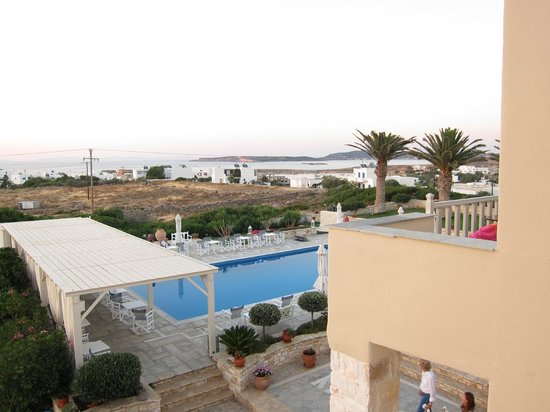 Kallisti Rooms & Apartments: view from the balcony