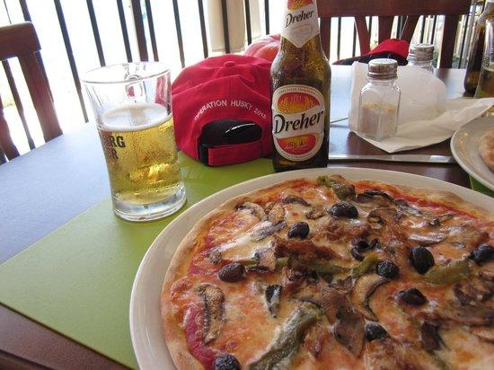 Ristorante Bella Blu: Pizza & beer special