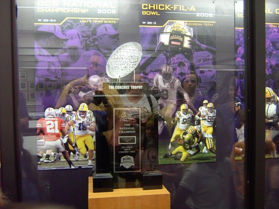 LSU Tiger Stadium: LSU Champions