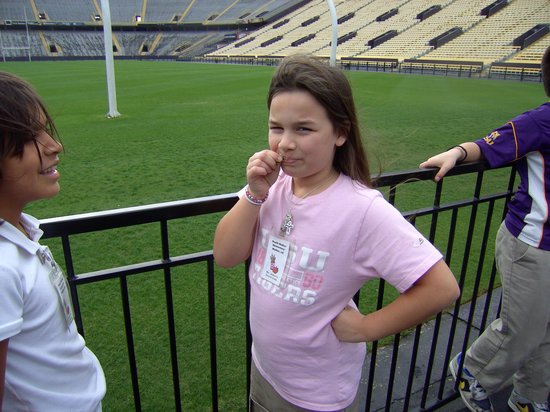 LSU Tiger Stadium : Be One With The Field - Eat the Grass
