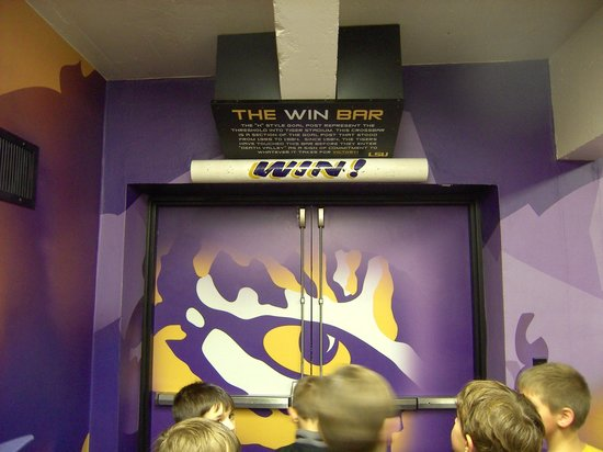 LSU Tiger Stadium: The WIN Bar