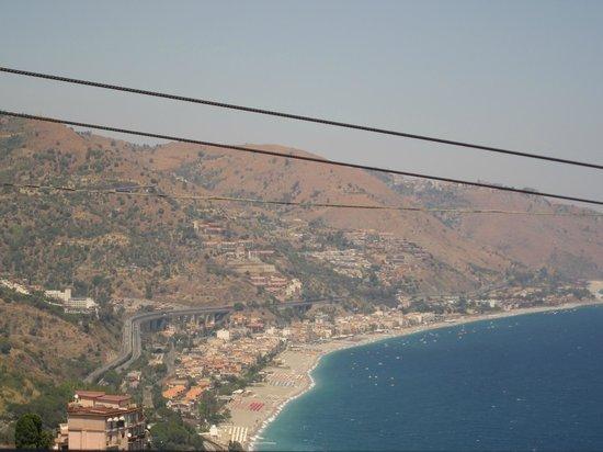 Ristorante Bella Blu: view from the balcony