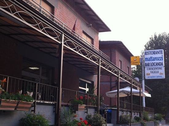 Monte San Pietro, Italie : ristorante Mattarozzi