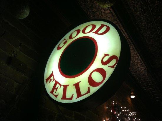 Goodfellos: Bar sign