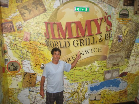 Jimmy's World Grill & Bar: Entrance