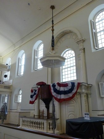 Old South Meeting House: listen to me
