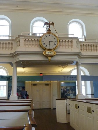 Old South Meeting House: clock