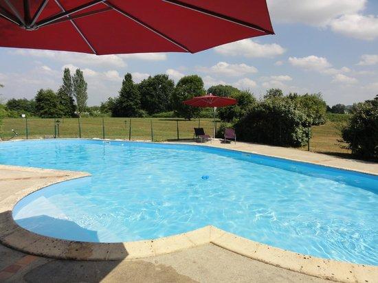 Les Rives du Plantie: piscine extérieur