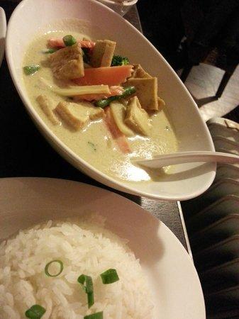 Thai Square Leura: Curry Vegetarian Rice
