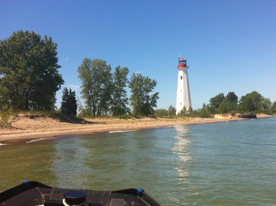 Long Point Eco-Adventures: Light house at the tip of Long Point