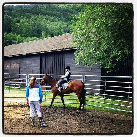 Klones AS: my 10 year old got riding lessons - great instructors and beautiful horses