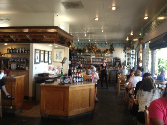 interior seating area. - picture of aladdin mediterranean cafe