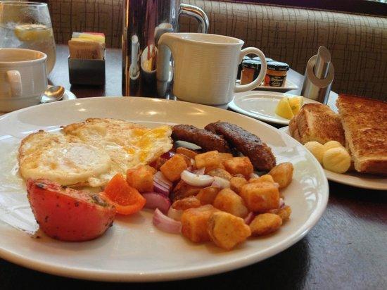 Pinzimini at The Westin Arlington Gateway: A relaxing breakfast.