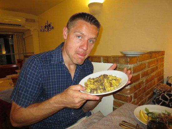 Su & Giu Cucina Romana: fetuccine